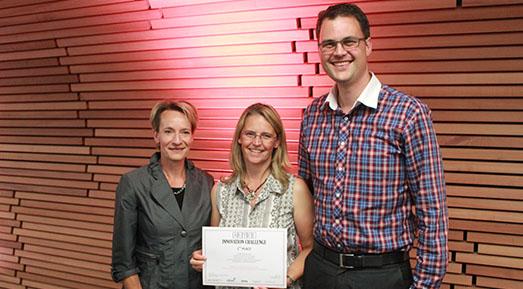 Paula Kersten, Kirsten van Kessel and Duncan Babbage